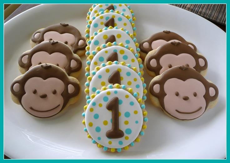 Mod Monkey cookies