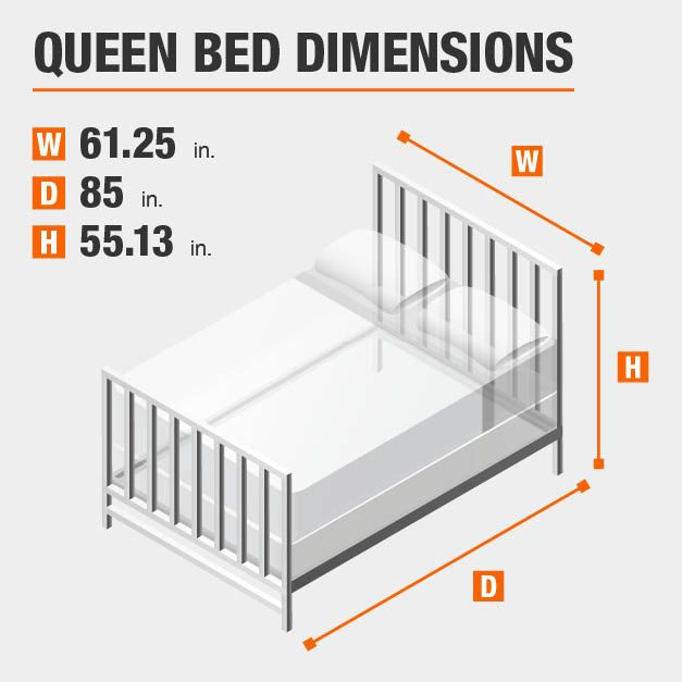 Home Decorators Collection Delacroix Black Metal Queen Bed With Gold Detail 61 25 In W X 55 13 In H 2440bqr The Home Depot Queen Bed Frame White King Bed Frame White Queen Bed