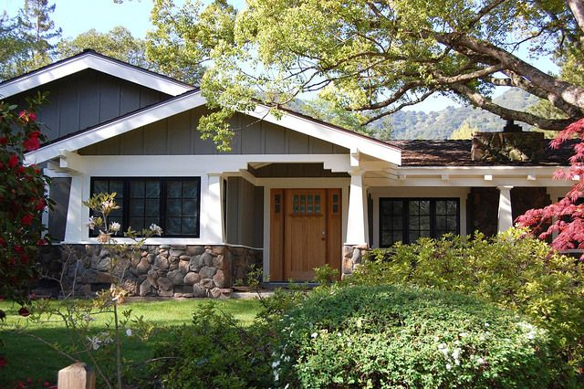 Into Bungalow Ranch House Facelift Pinterest Photos