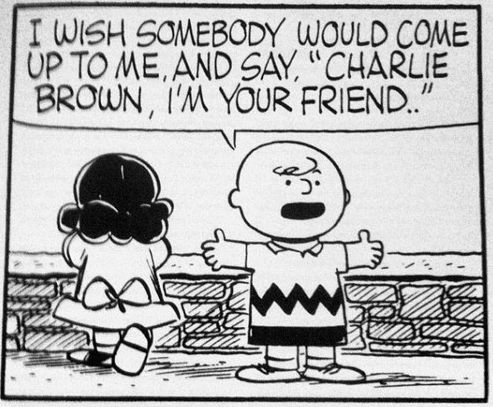 Charlie Brown, I'm your friend