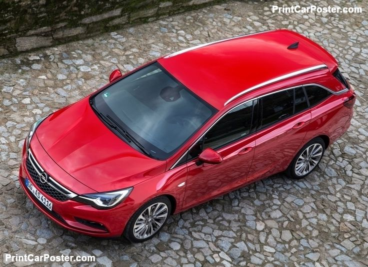 Opel Astra Sports Tourer 2016 poster, #poster, #mousepad