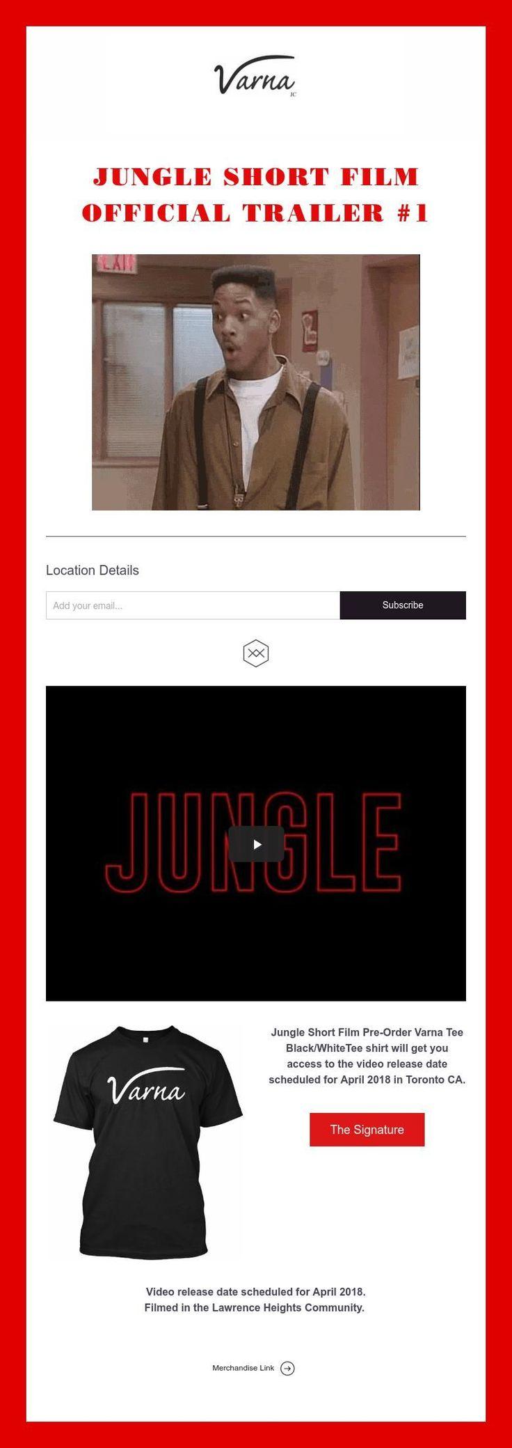 Jungle Short Film  Official Trailer #1