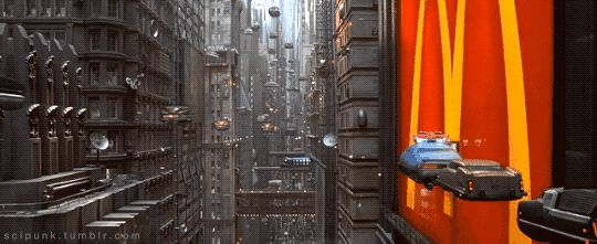 I'm in the line ;) The Fifth Element (1997) - Cyberpunk Movies & Neon Lights