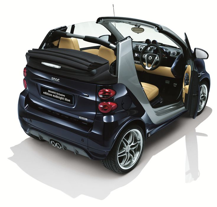 The smart Brabus Gets Final Edition Midnight Blue in Japan