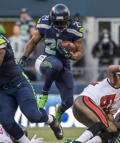 Marshawn Lynch - Beast Mode - Seattle Seahawks