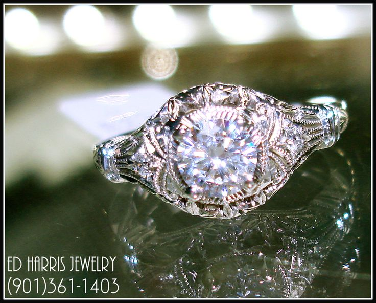 Founded in Cincinnati by Joseph and William Whitehouse, Whitehouse Brothers has been continuously manufacturing vintage-style, Edwardian-era engagement rings and wedding bands since 1898. Available at Ed Harris Jewelry (901)361-1403. www.edharrisjewelry.com
