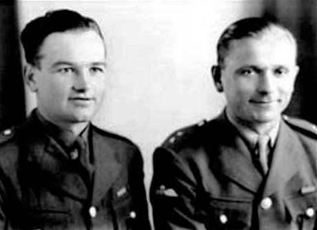 Two Czechoslovak soldiers - Jan Kubis and Josef Gabcik, trained in Britain - parachute into the Protectorate and fatally wounded the Reichsprotektor on 27th May 1942, as his car drove through Prague.