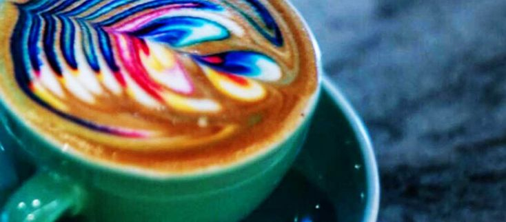 The Newest Trend: Rainbow Coffee
