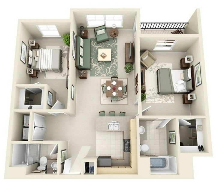 Three Bedroom House Design Pictures Entrancing 274 Best Blue Prints Images On Pinterest  House Blueprints Small Review