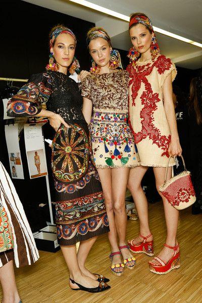 Dolce & Gabbana at Milan Fashion Week Spring 2013