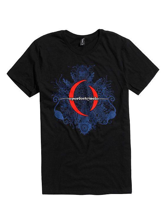 A Perfect Circle Mandala Logo T-Shirt, BLACK