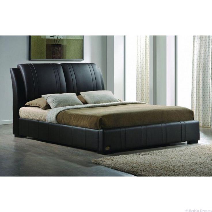Sorrento Leather Storage Bed