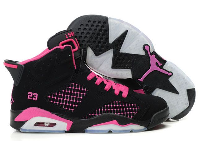 Nike Air Jordan 6 Women Shoes Black/Pink For Sale,New Jordan Shoes @Whitney Clark Clark Clark Cochran