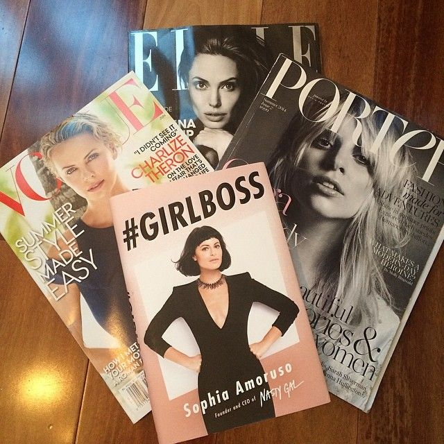 Follow @ashleesarajones Instagram  Wednesday night fashion feeds! @portermagazine @netaporter @voguemagazine @elleusa @sophia_amoruso #girlboss #sophiaamoruso #nastygal #vogue #june #2014 #elle #magazines #book #fashion #style #readings #feeds #porter #summer2014 #netaporter #happynight #love