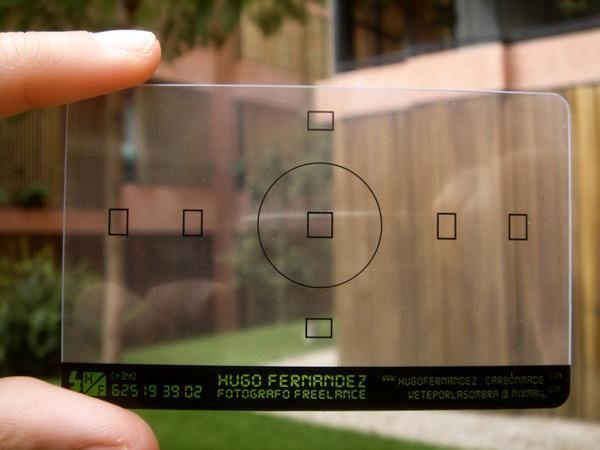 Hugo Fernandez business card: Creative Business Cards, Idea, Business, Graphics Design, Card, Photographers Business Cards, Photographer Business Cards, Photography Business, Business Cards Design