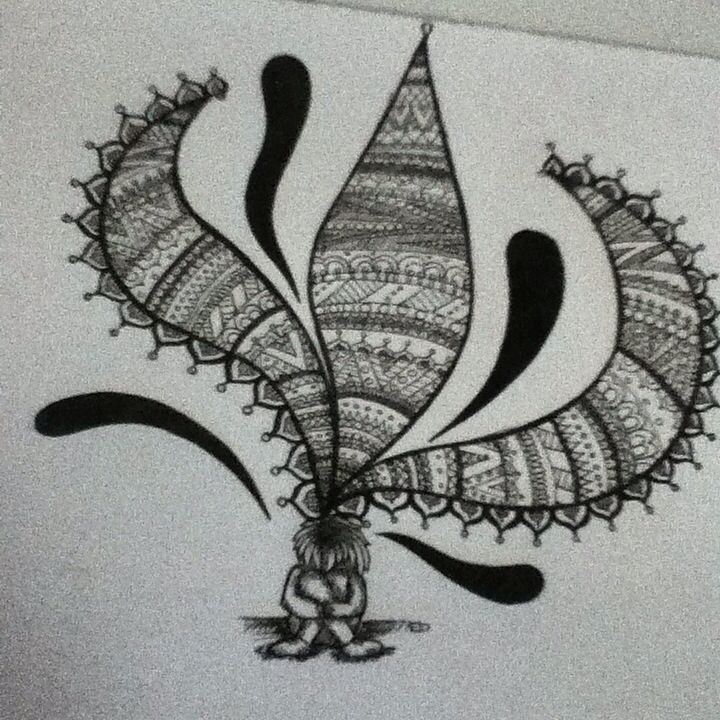 This is my complete own design and drawing. I love this. :)