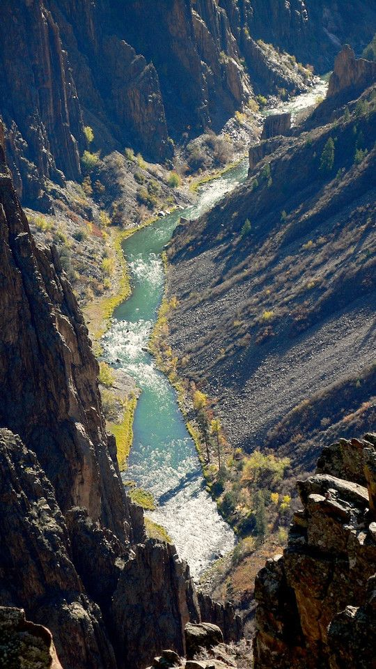 Gunnison River, Black Canyon of the Gunnison, Colorado