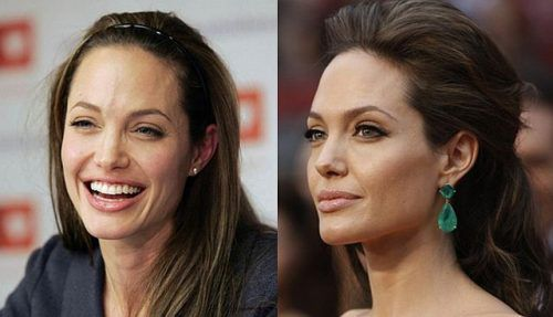 celebs with without makeup 16 Female celebs with and without their mask (32 Photos)