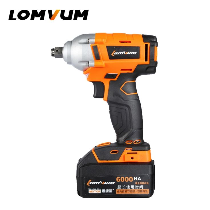 (100.39$)  Buy here - http://aixrf.worlditems.win/all/product.php?id=32797786084 - LOMVUM Integrated Brush Wrench wheel hilti tool cordless Electrical Impact wrench nut spanners screw gun avvitatore ad impulsi
