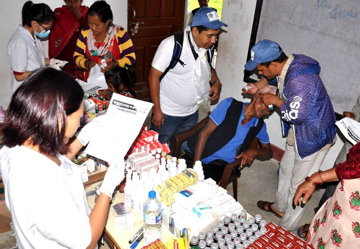 District 325B1 #LionsClubs (Nepal) held free health check-ups and provided medical supplies to 450 people