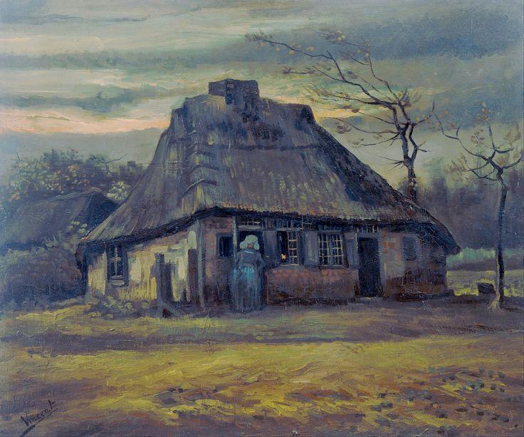 Vincent van Gogh - The cottage [1885]