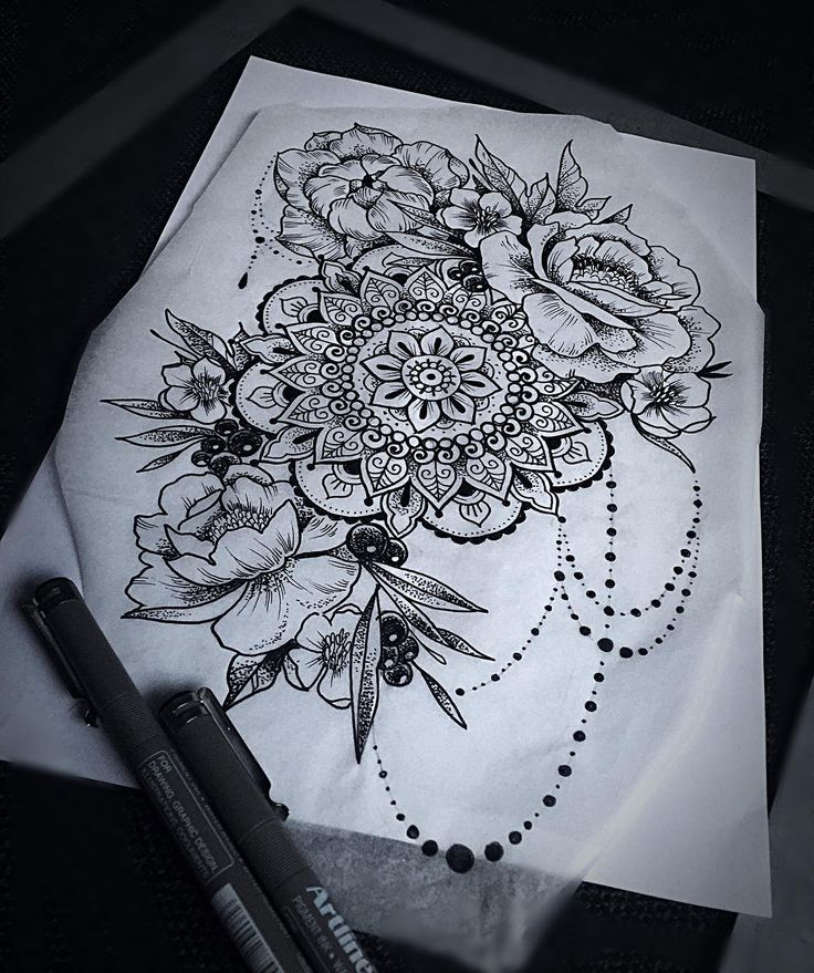 "140 Likes, 7 Comments - Stacy VL (@stacyvl) on Instagram: ""Just finished that tattoo design for Camilla. Looking forward for itlines and dots- all my…"""