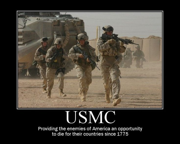 USMC: Enemies, Happy Birthday, God, Picture-Black Posters, Semper Fi, Motivation Posters, Semperfi, Usmc, Marines Corps