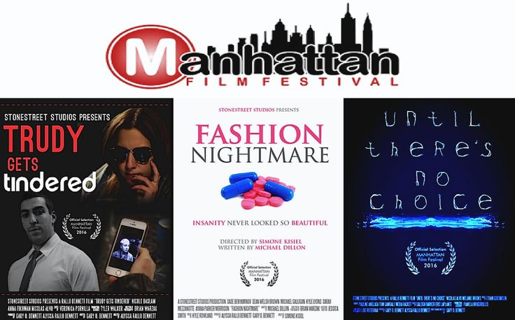"""Stonestreet Shorts featured in Manhattan Film Festival.  Licensing deal with Shorts TV imminent for their newly branded """"MicroMovies"""" and other short form content."""