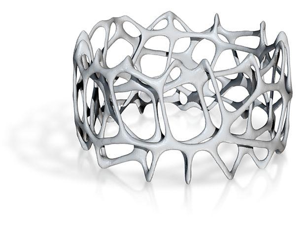 voronoi doubleshell bracelet by bonooobong