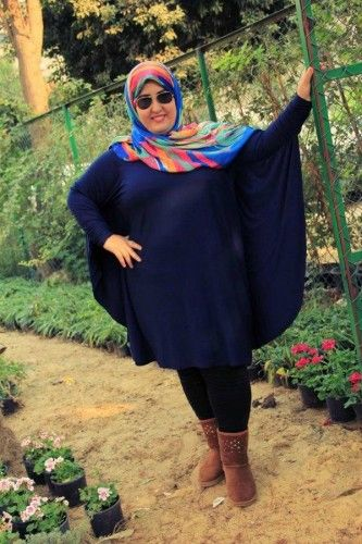 Plus size hijab fashion outfits | Just Trendy Girls