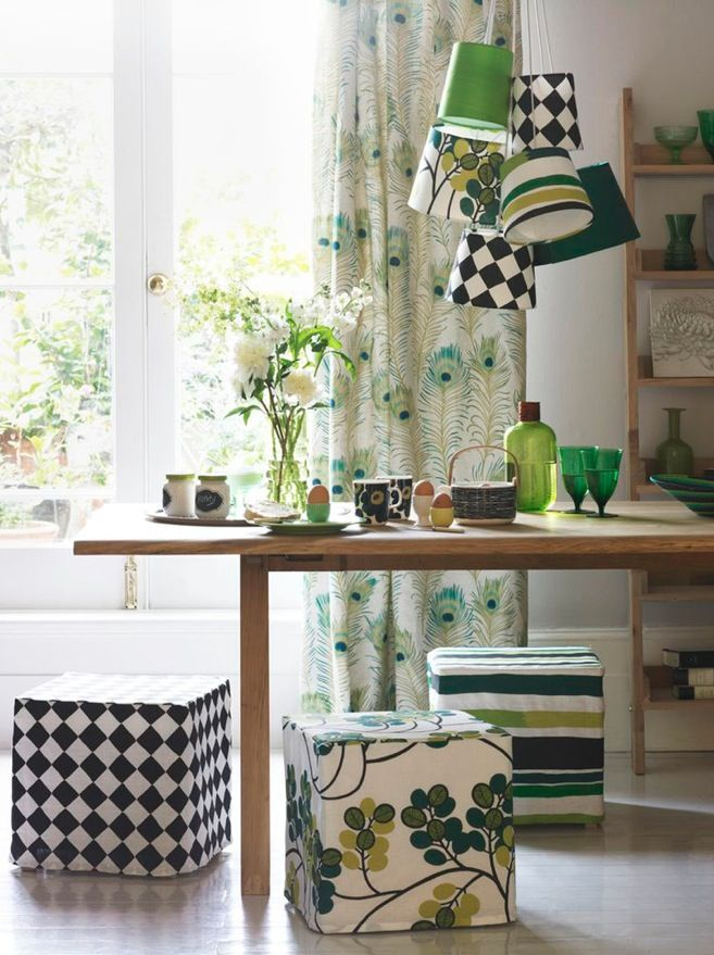 Introduce Pattern And Colour With Loose Covers Made From The Latest Fabrics For A Quirky