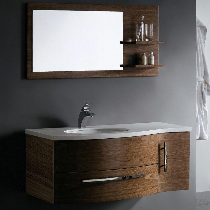 1000 ideas about floating bathroom vanities on pinterest - Contemporary bathroom sinks and vanities ...