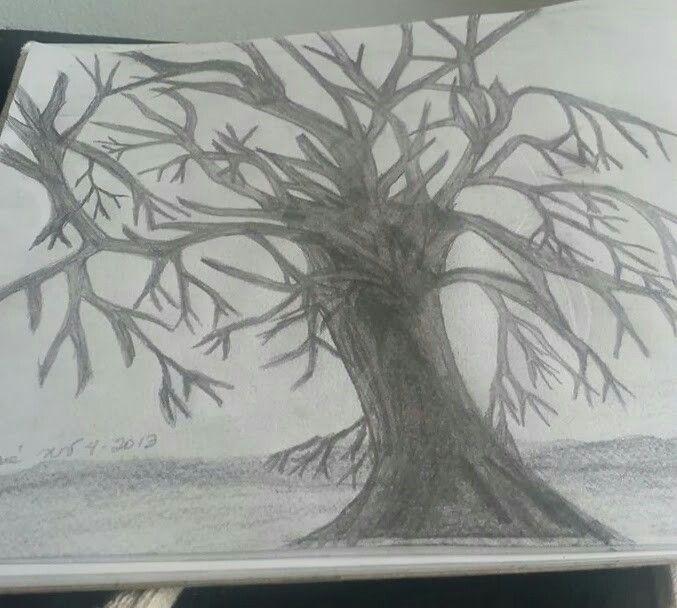 Árbol a lápiz