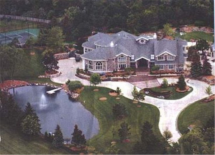 Eminem's Home   Rich People's Homes   Pinterest   Home ...