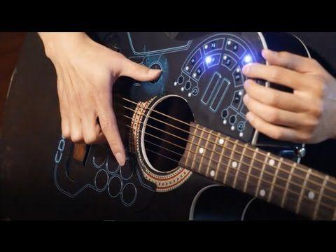Игра на гитаре на новом уровне. ACPAD - YouTube