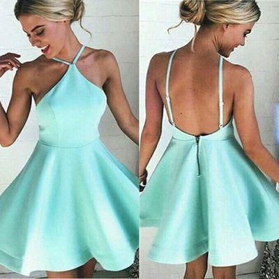 Sexy A-line Short Homecoming Dress Cocktail Dress,146