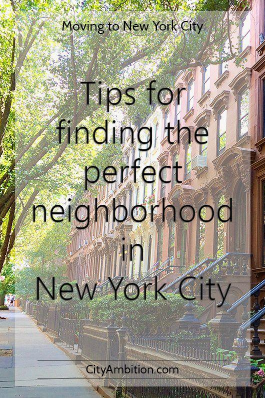 New York Neighborhood Guide: Tips for finding the perfect neighborhood in NYC
