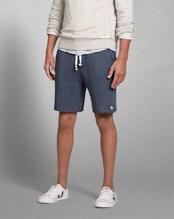 Mens A&F Fleece Shorts