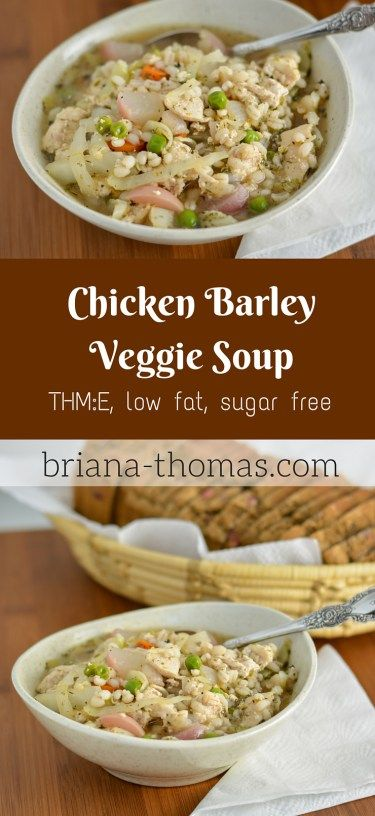 how to cook chicken barley in soup