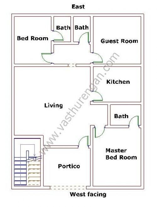 House Plans According To Vastu House Plans 3d House Plans