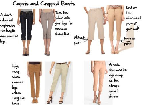 1000  images about Capris and Cropped Pants on Pinterest