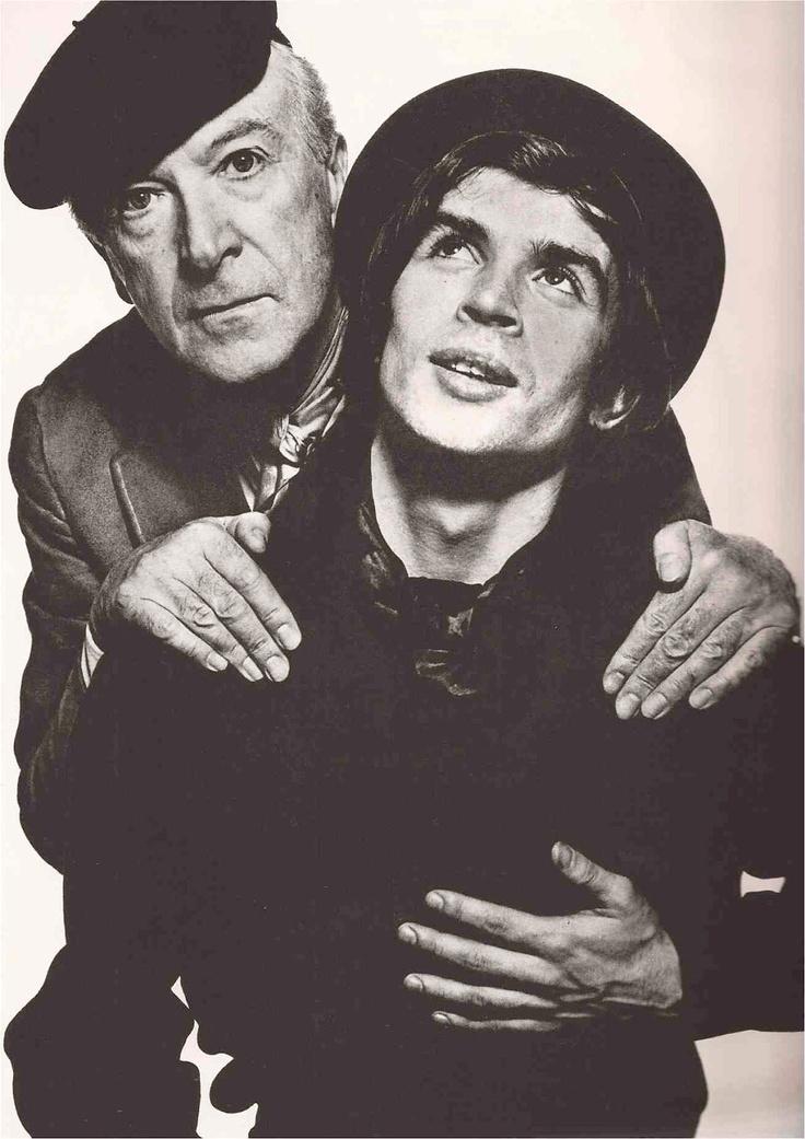 Cecil Beaton & Rudolph Nureyev by David Bailey, 1966. @designerwallace