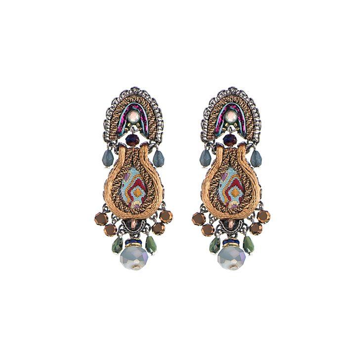 Golden Dawn Vibe Earrings  Ayala Bar Hip Collection    Summer 2016