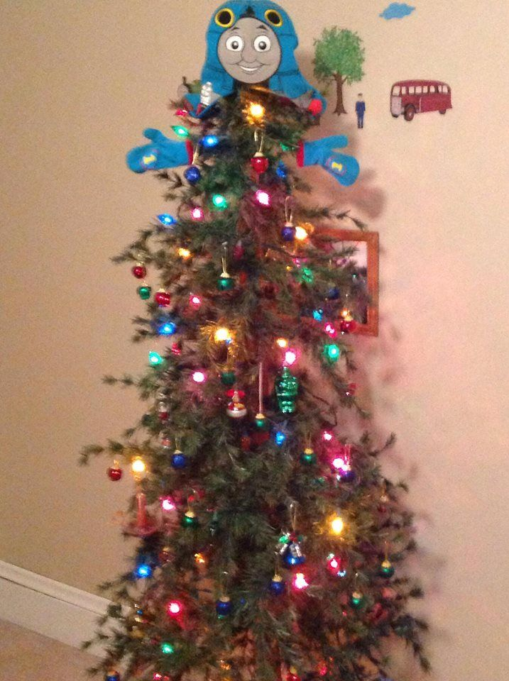 Thomas The Train Tree Christmas Trees For Kids