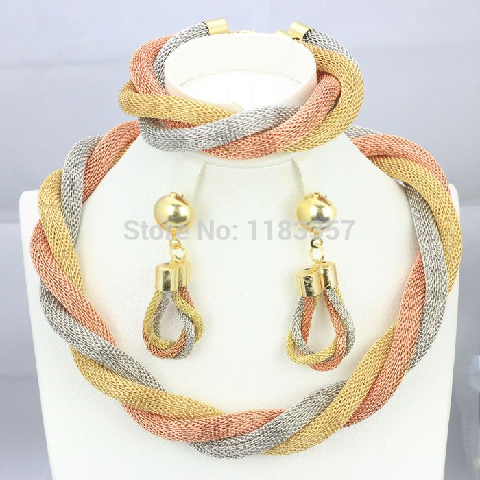 63 best Fashion gold plated jewelry sets images on Pinterest Gold