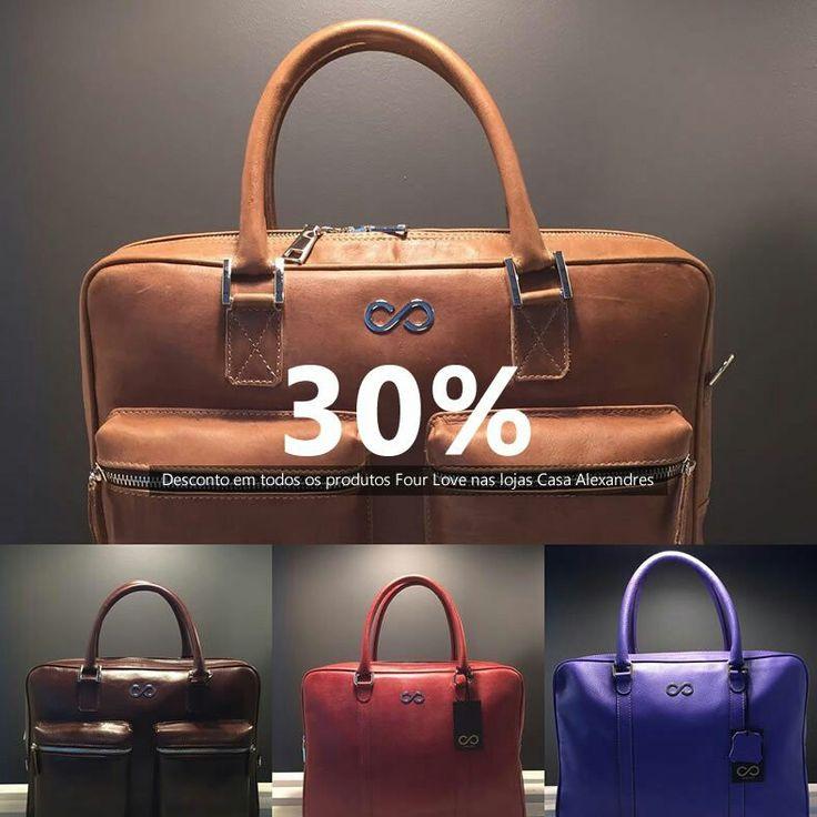 Aproveite 30% de desconto em todos os produtos Four Love nas lojas Casa Alexandres