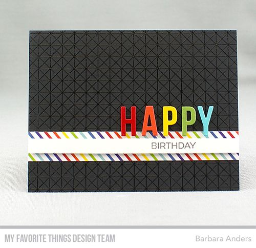 Handmade card from Barbara Anders featuring Framework Background #mftstamps