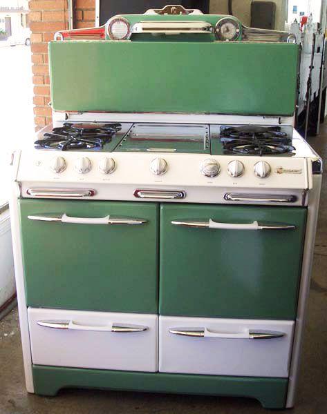 88 best vintage appliances images on pinterest for Dream kitchen appliances