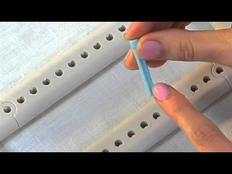 How to Use the Pegs on the Martha Stewart Crafts Lion Brand Yarn Knit & Weave Loom Kit