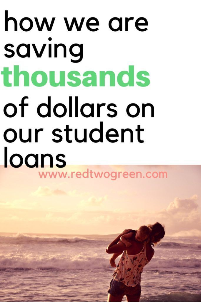 There are tons of strategies you can use to pay of your #studentloans. Income based repayment? Standard repayment? Public service? It can be difficult to figure out. We are saving literally hundreds of thousands of dollars on our student loans by sticking to this one method-- find out more at www.redtwogreen.com